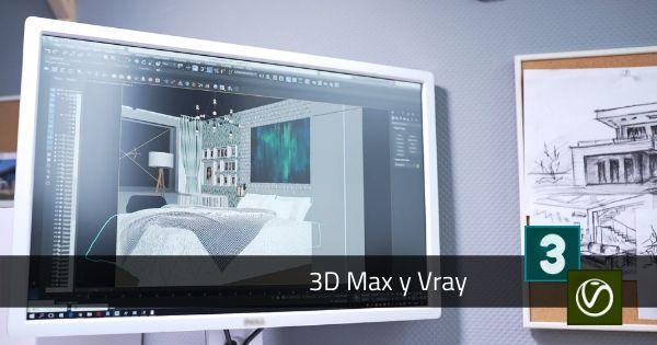 Diplomado 3d max 2016 vray arquitectura virtual for Arquitectura virtual